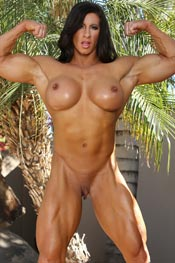 Aziani Iron female bodybuilders nude